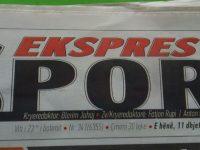Artikulli ne Gazeten Sport Ekspress