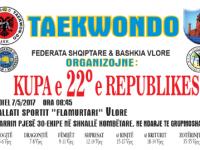 Kupa e 22° e Republikës në Taekwondo I.T.F